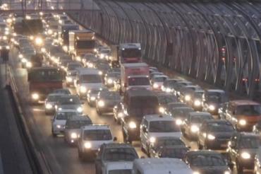 Из-за украинки на трассе в Польше образовалась гигантская пробка