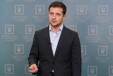 """""""Никогда не сдам Украину"""": Обращение Зеленского к народу"""