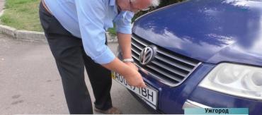 В Закарпатье некоторые водители готовы отдавать по 30 тысяч гривен за необычные номера