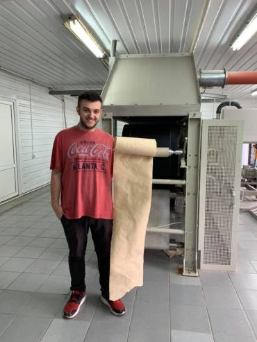 """Технологія виготовлення паперу з опалого листя RE-leaf від мешканця Закарпаття готова до роботи в """"масштабних умовах"""""""
