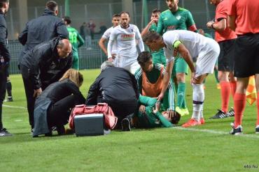 Півзахисник із Закарпаття відзначився у двох матчах підряд у чемпіонаті Угорщини та отримав важку травму