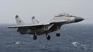 На Гоа в Индии упал российский Миг-29К ВМС Индии
