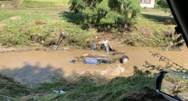 В Закарпатье после подтоплений разыскивают пенсионера