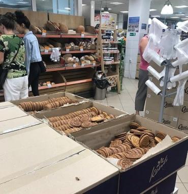 """Тошнотворным видео из супермаркета """"Сильпо"""" в Ужгороде """"радуют"""" сети"""