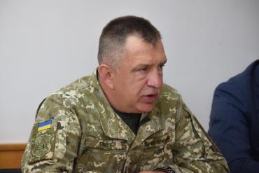Військовий комісар Ужгородського ОМВК підполковник Ігор Тищук