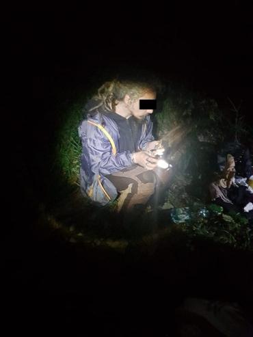 Полуночному бродяге-румыну не удалось проскочить границу в Закарпатье