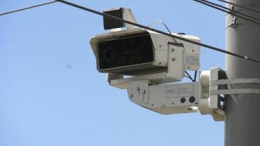 В Закарпатье, возле Ужгорода, начали установку камер фотофиксации нарушений ПДД.