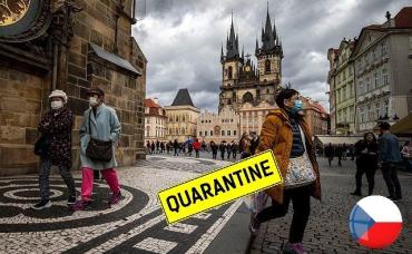 Чехия ушла на жесткий локдаун: Новые правила с 1 марта