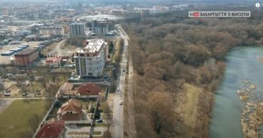 Неймовірний Ужгород з висоти польоту квадрокоптера: Вражаючі зйомки Слов'янської набережної