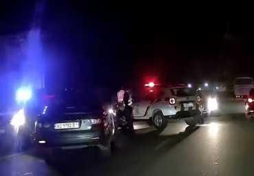 Авария в Закарпатье: Не разминулись два авто, видео опубликовали в сети
