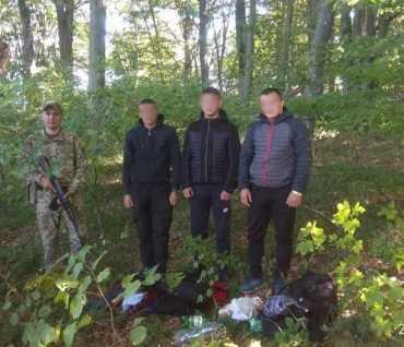 В Закарпатье за 10 метров до границы со Словакией задержали нелегалов из Молдовы