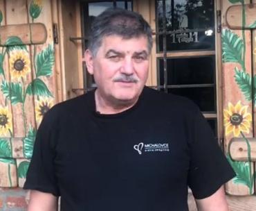 Павло Чучка опубликовал видеообращение с призывом объединиться и спасти Ужгород