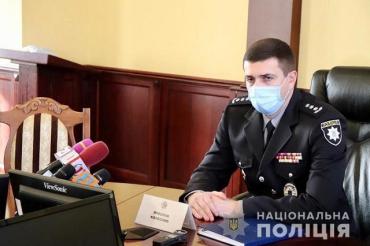 Новый глава полиции Закарпатья пообщался с местными СМИ