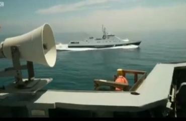 Телеканал BBC обнародовал репортаж с эсминца Defender