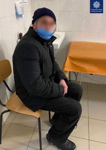 В Ужгороде пьяный в хлам водитель выдул на алкотестере не слабый результат