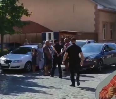 Сегодня, 4 августа около 10:30 в Виноградово произошло ДТП.