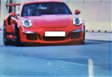 В Словакии по трассе, ведущей в Закарпатье, Porsche пронёсся с рекордной скоростью (