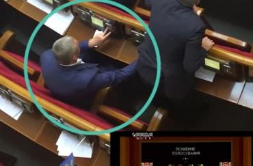 Преступление народного депутата из Закарпатья попало на камеру.
