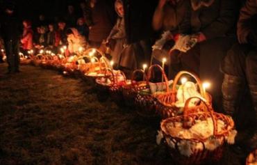 В Закарпатье в этом году пасхальна корзина обойдется более 900 гривен