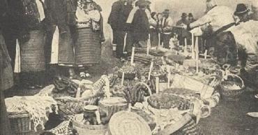 Пасха в Закарпатье 1929 года: Село Ясиня почти 100 лет назад