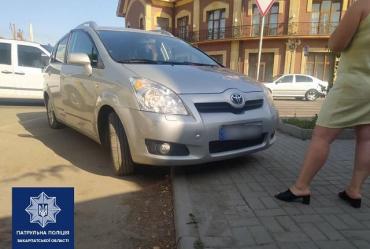 """В Закарпатье водителю Toyota не удалось """"порешать"""" вопросы с патрульными"""