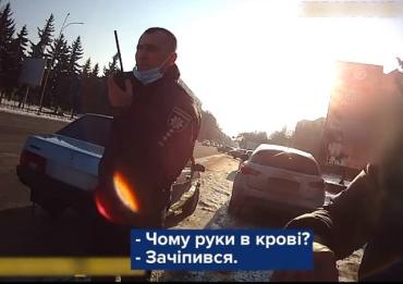 Пьянка, ДТП и драка: В Ужгороде водителю ВАЗ за свои подвиги придется ответить