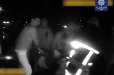 В реке находится тело: В сети опубликовали видео спасения женщины