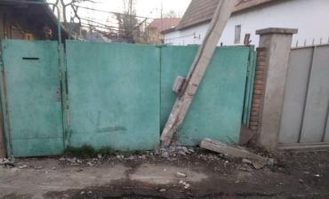 В Ужгороде из-за ДТП улица осталась без электричества