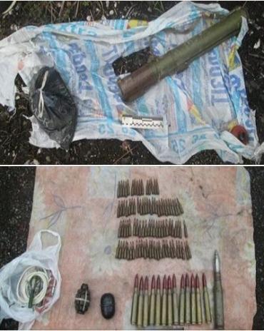 В Ужгороде обнаружили нашли закопанный тайник с оружием