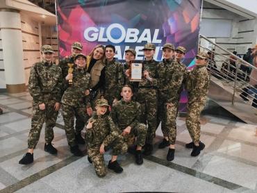 """Ужгородський """"БЛІЦ"""" здобув два перші місця на Global Talent у Харкові"""