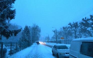 На Украину обрушится огромный массив снега