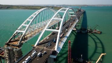Протяженность Крымского моста составляет 19 километров