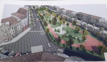 Проект реконструкции площади Петефи в Ужгороде