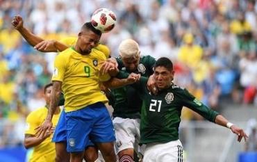 Бразилия победила Мексику 2:0 на ЧМ-2018