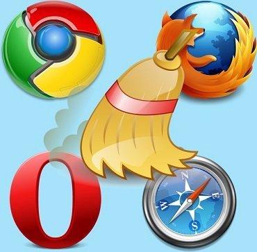Очистка кэша в любом браузере