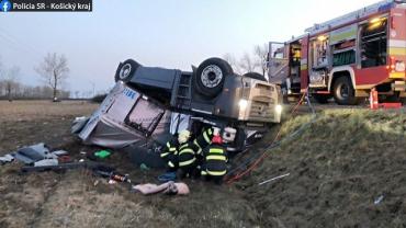 Далекобійник-українець знайшов свою смерть в Словаччині: В аварії шансів вижити не було