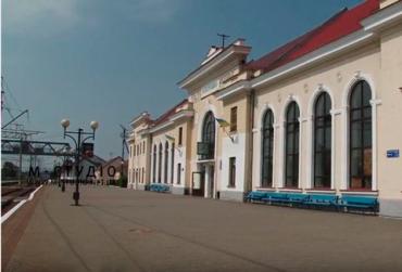 Вокзал в Мукачево