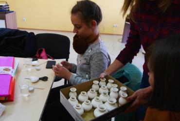 В Ужгороді провели майстер-клас для дітей із неблагополучних сімей