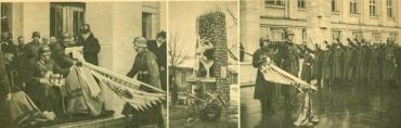 Втрачений Ужгород: пам'ятник загиблим солдатам на вулиці Другетів