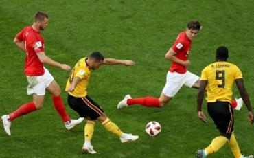 Бельгия обыграла Англию 2:0