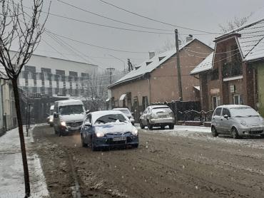 В Закарпатье целый город парализовало из-за происков погоды