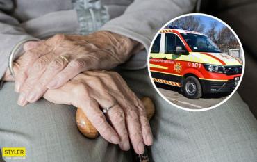 В Одессе бабушка подожгла Пенсионный фонд из-за мизерной пенсии