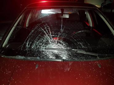 В Закарпатье молодая женщина попала под колёса иномарки