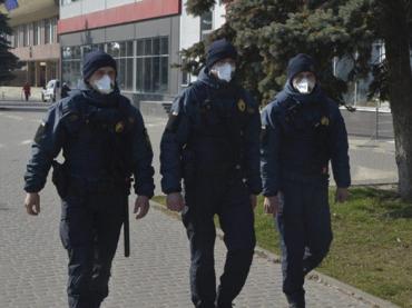 Усиленная охрана: Нацгвардия вышла на патруль одного из городов в Закарпатье