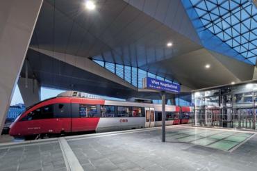 В Австрии на поездах перемещаются в три раза больше человек, чем в среднем по Евросоюзу