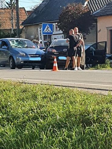 Тройное ДТП в Закарпатье: Есть минимум один пострадавший