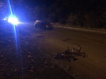 На Закарпатье из-за ужасной аварии велосипедист оказался в коме