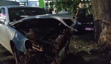 В Ужгороде на центральной улице ДТП - автомобилям знатно досталось