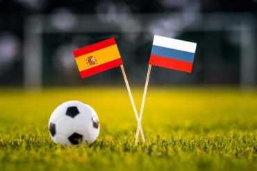ЧМ-2018 : Матч Россия - Испания
