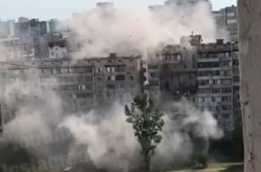В Киеве в доме по проспекту Григоренко произошел взрыв бытового газа